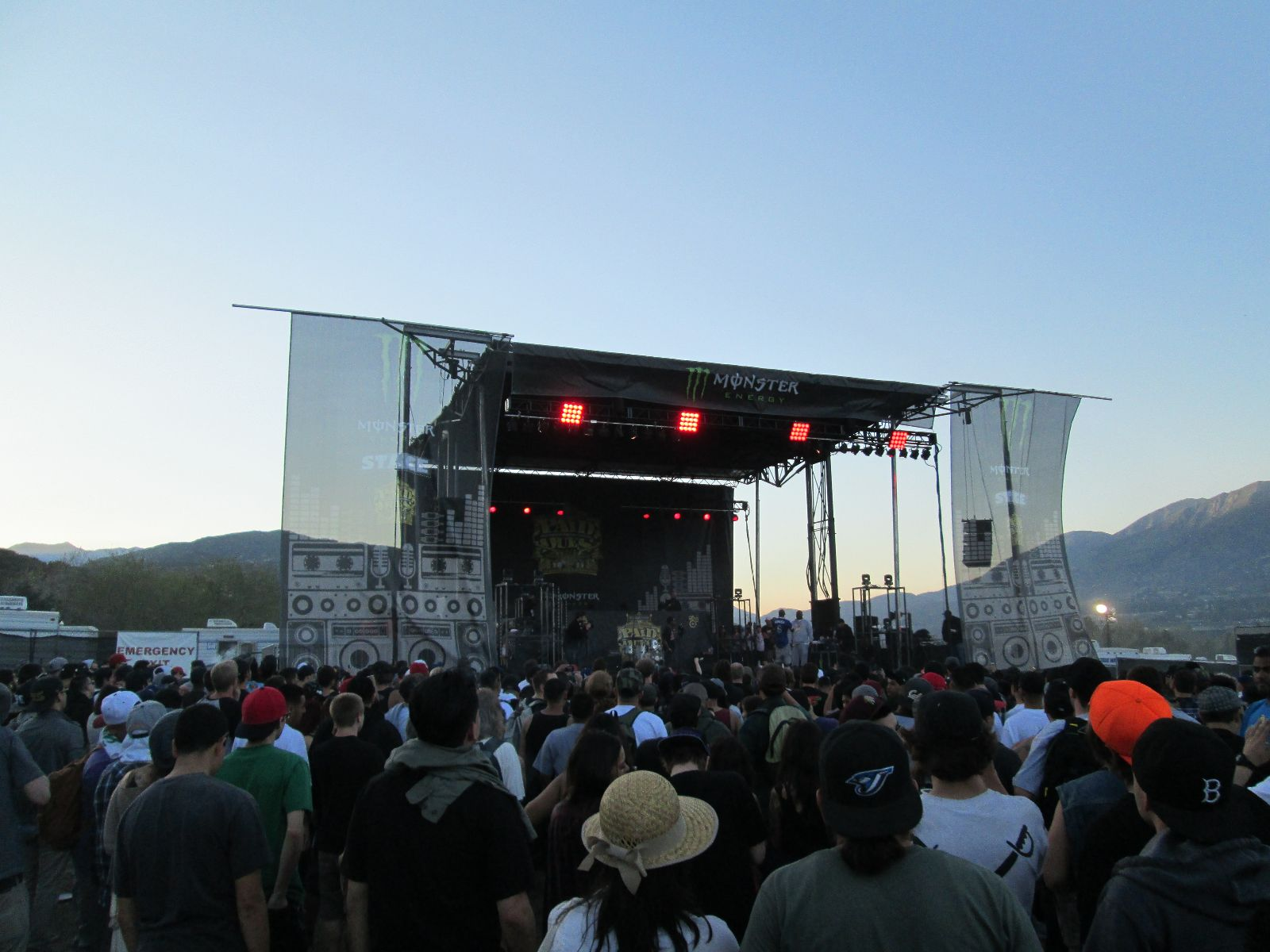 Paid Dues Monster Energy Stage